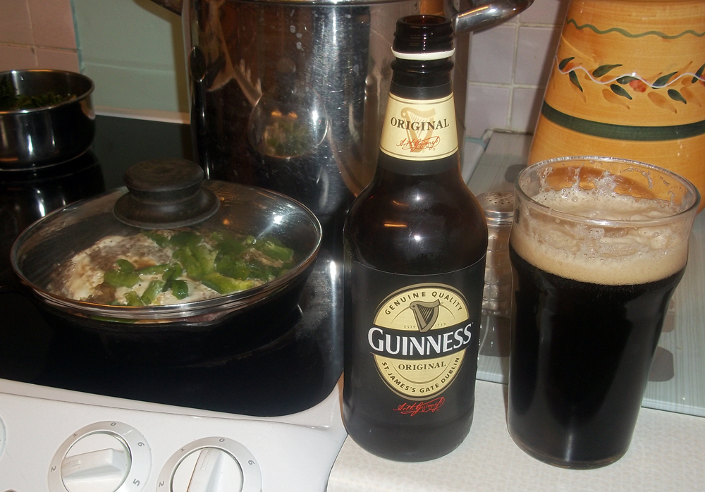 Guinness and steak