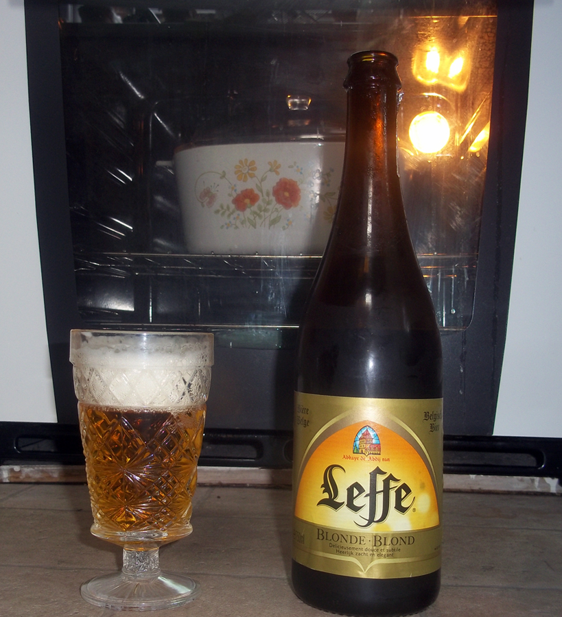 Leffe Blonde and pork roast