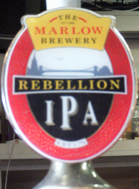 Marlow Rebellion IPA Red Lion Chinnor