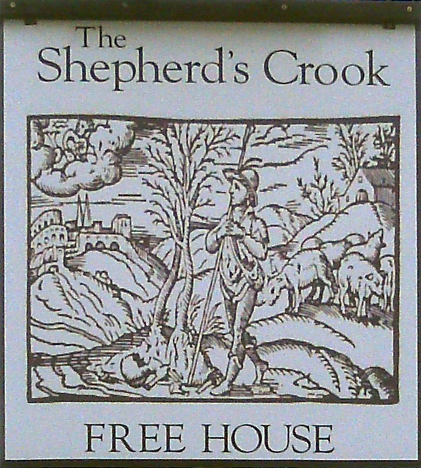 Shepherd's Crook Crowell sign