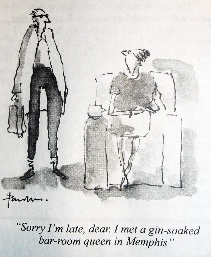 Sorry I'm late dear