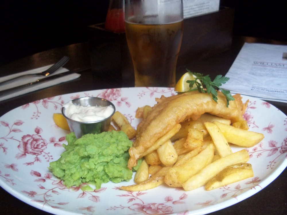 The Chequers Oxford haddock