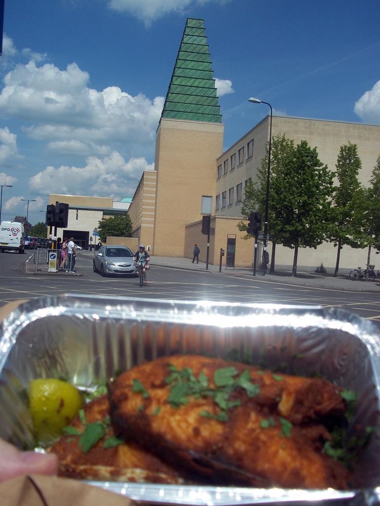Dosa Park Oxford fish fry