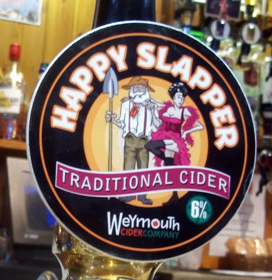 Happy Slapper clip Ludlow Arms Westbury