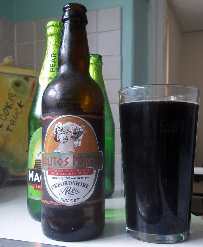 Oxfordshire Ales Brutos Porter