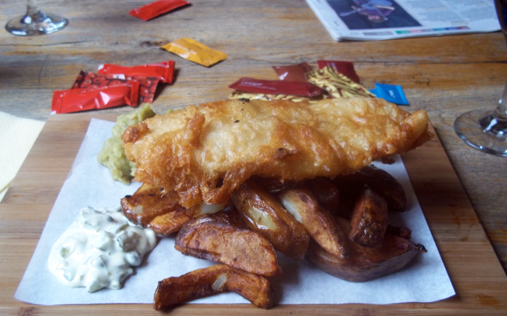 pig and fiddle bath fish and chips