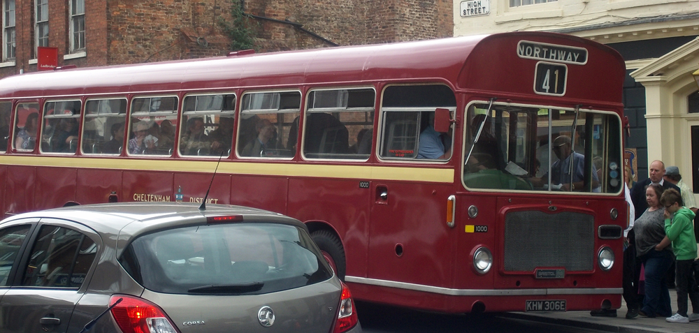 Bus Day 2014 Bristol RELL6L 1967