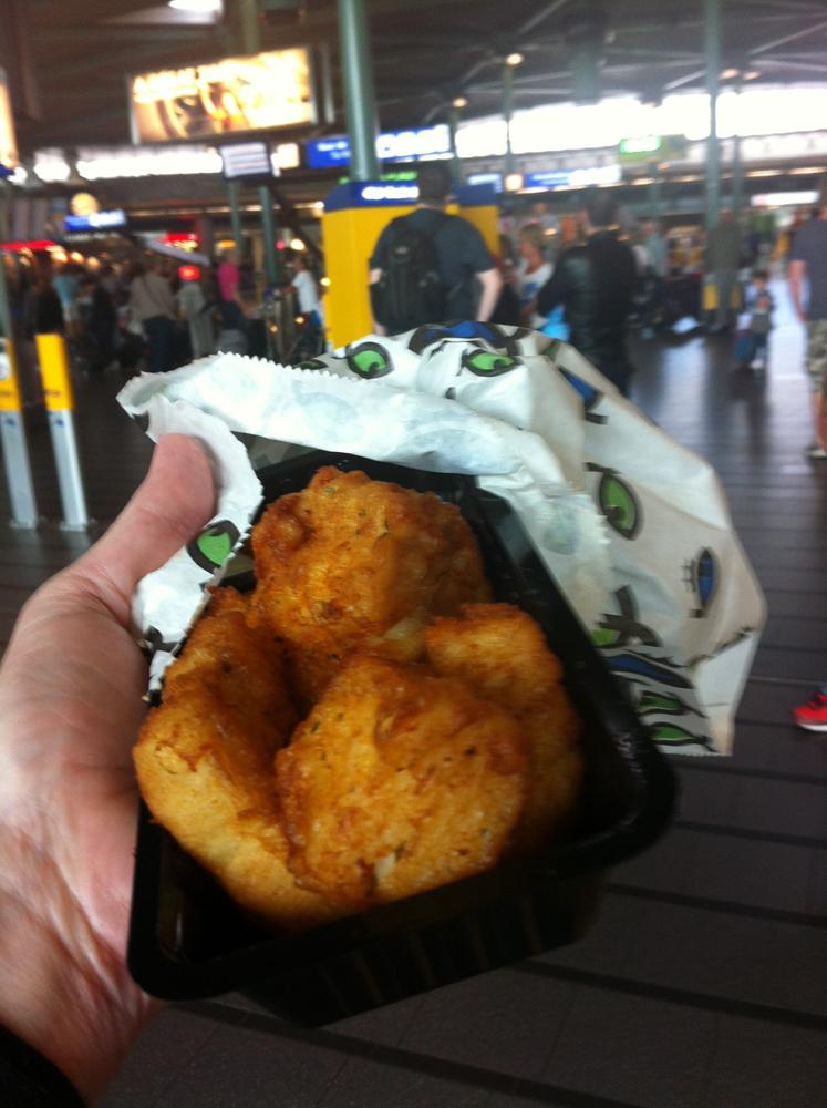Happy Seafood Schiphol Airport Amsterdam kibbeling kabeljauw