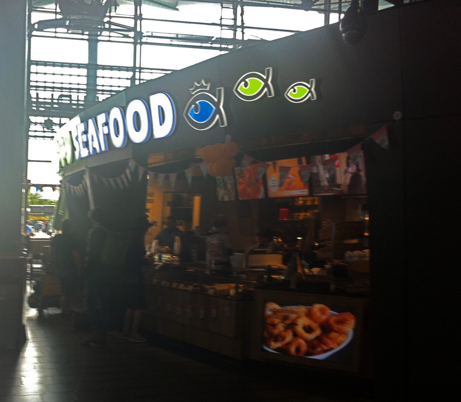 Happy Seafood Schiphol Airport Amsterdam