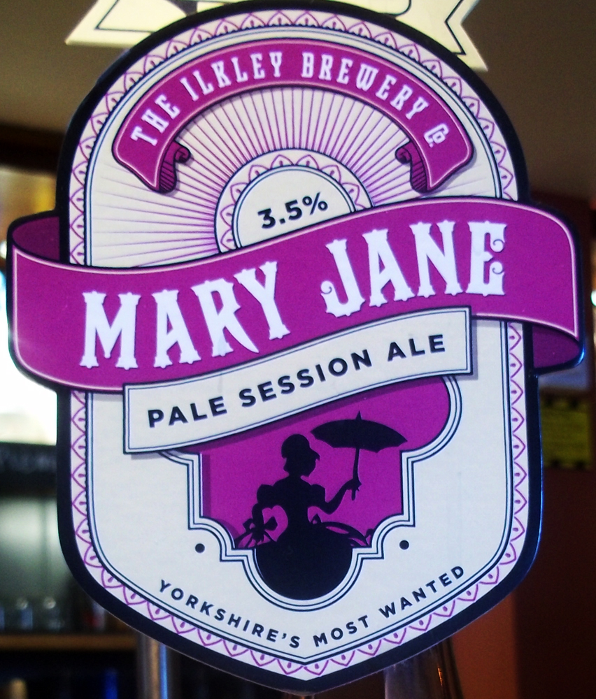 Mary Jane at the Britannia pump clip