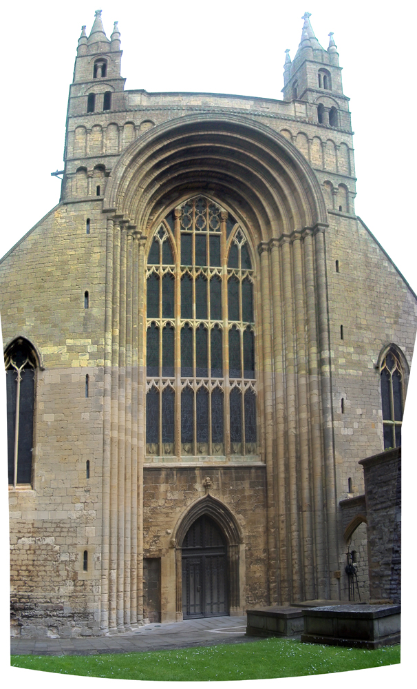 Tewkesbury Abbey front