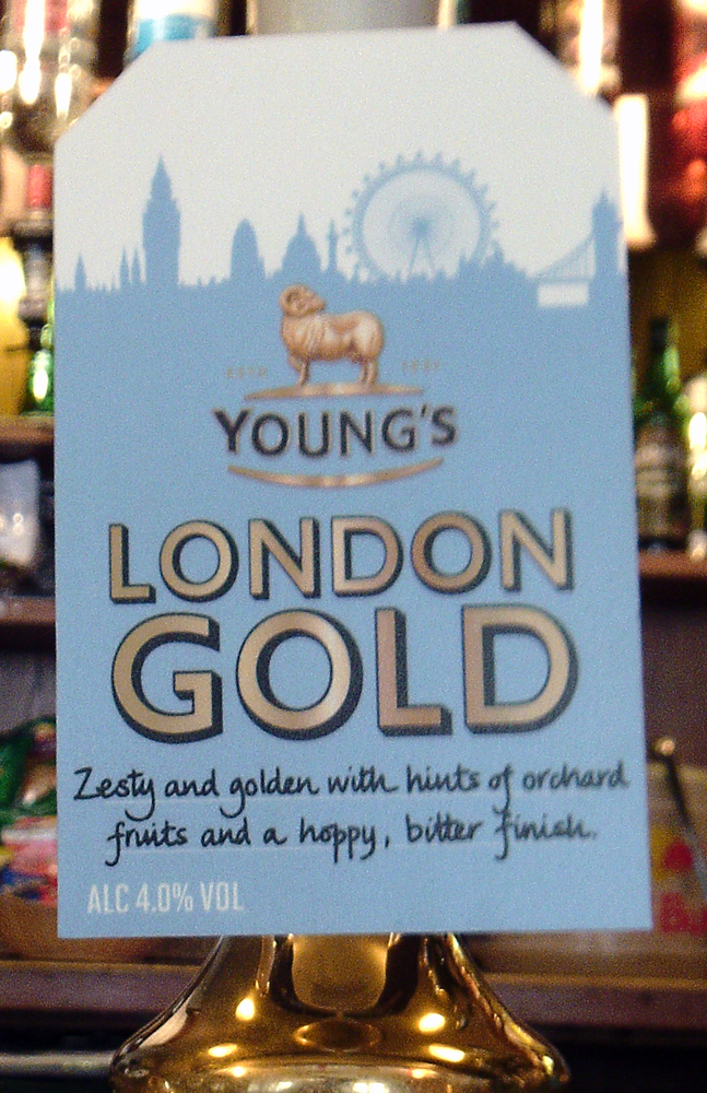Young's London Gold pump