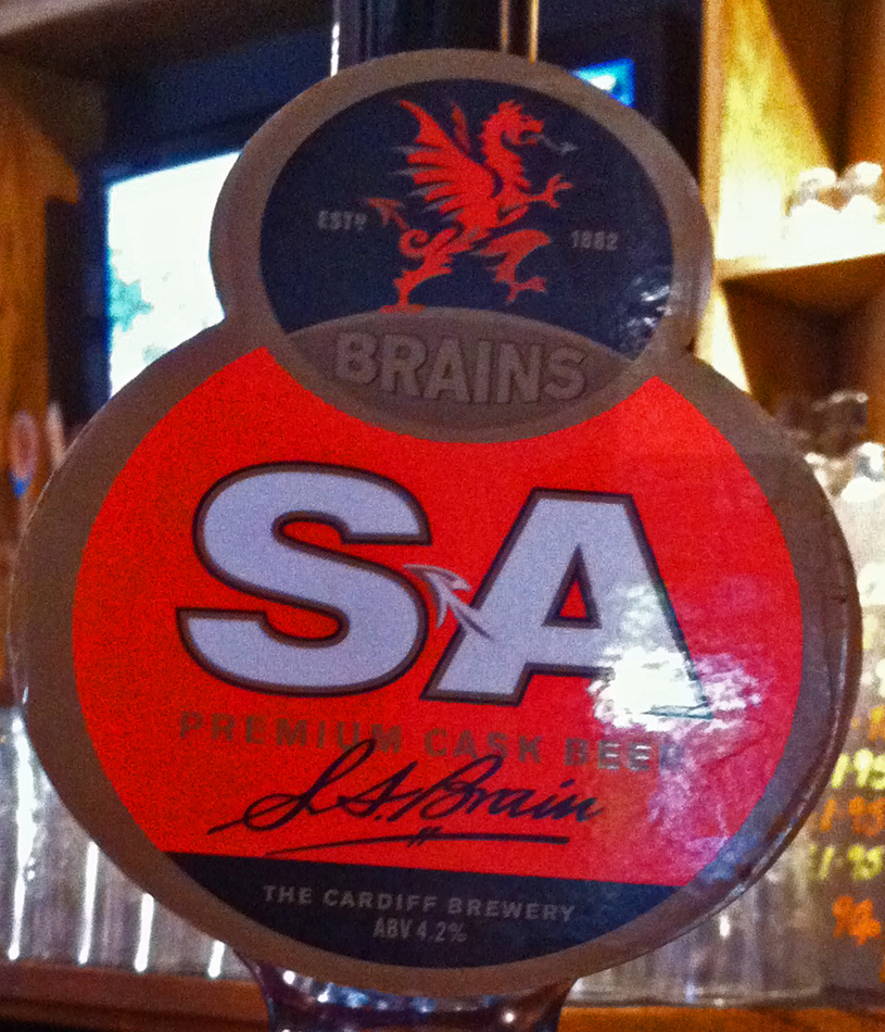 Brains SA Red Lion Kidlington pump