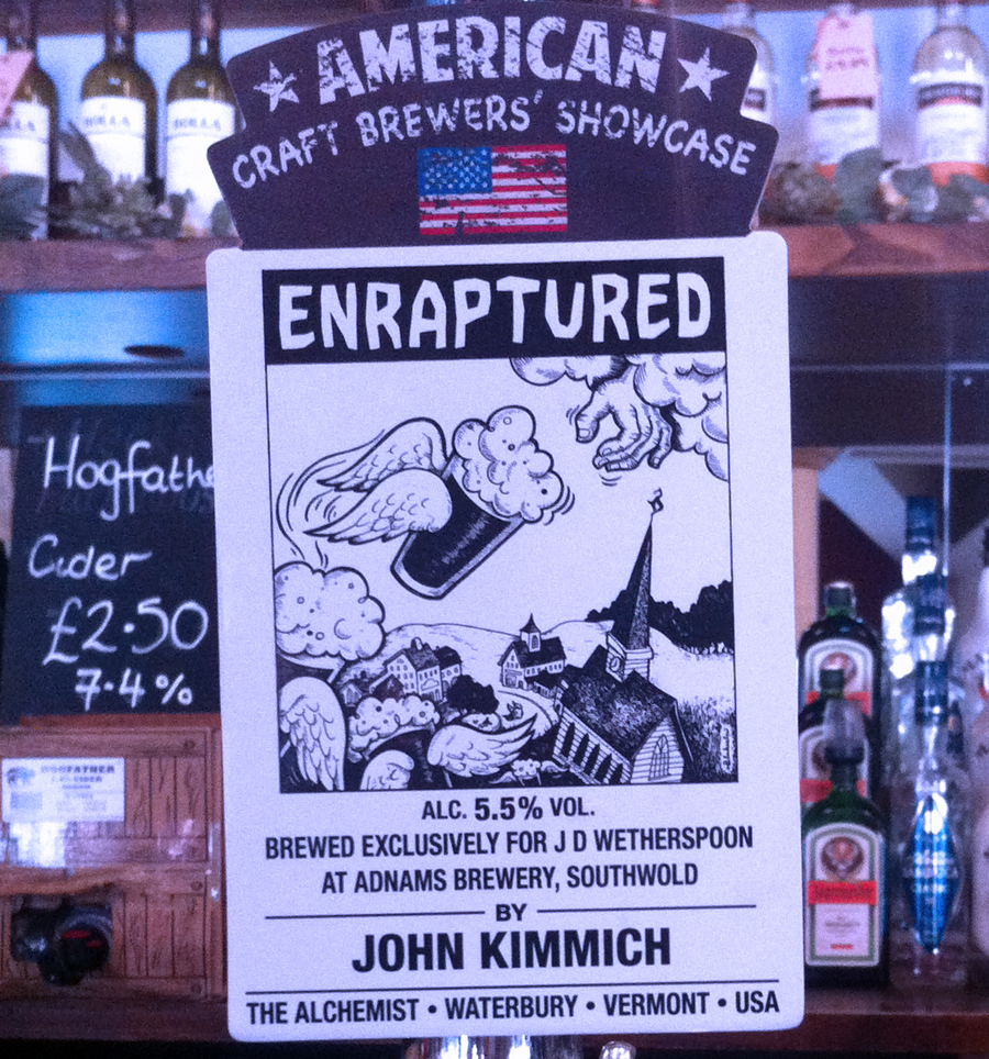 Enraptured Four Candles Oxford pump clip