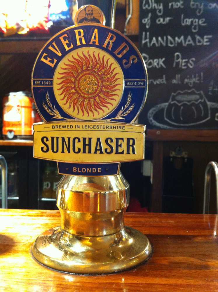 Everard's Sunchaser clip at White Hart