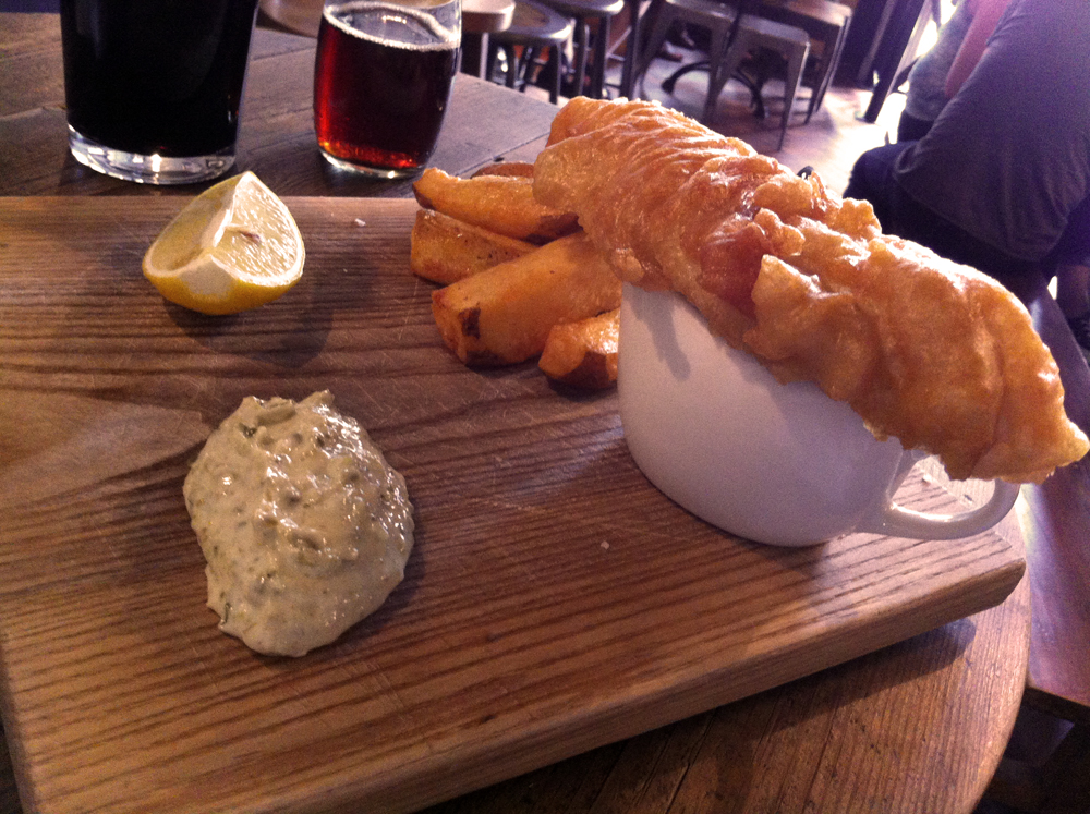fish and chips St Aldates Tavern Oxford