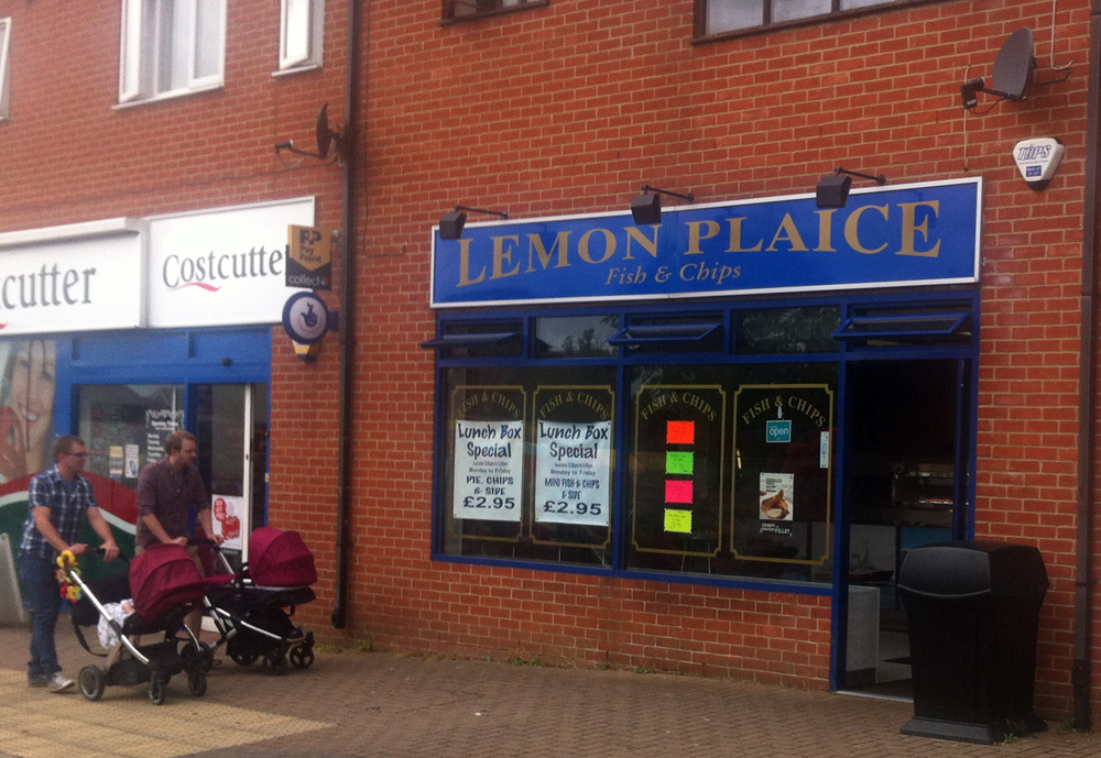 Lemon Plaice Swindon