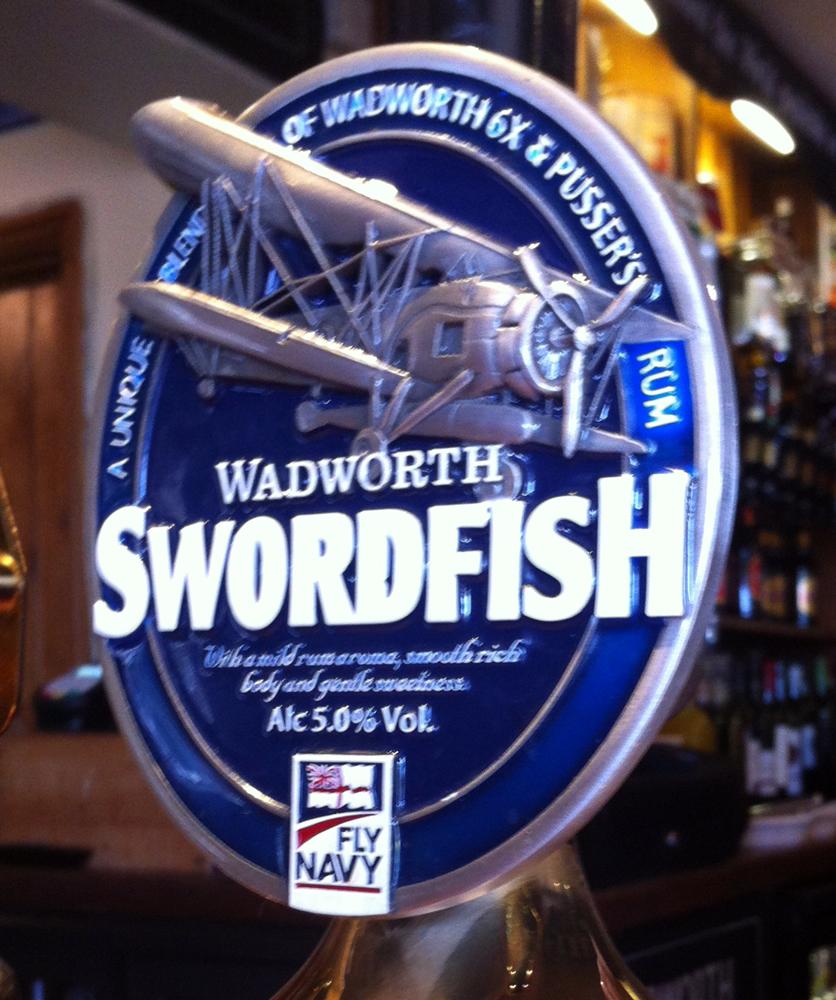 Swordfish Victoria Arms Marston pump