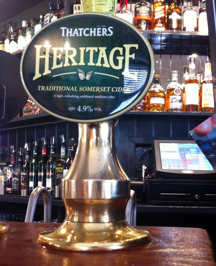 Thatcher's Heritage Clifton pump