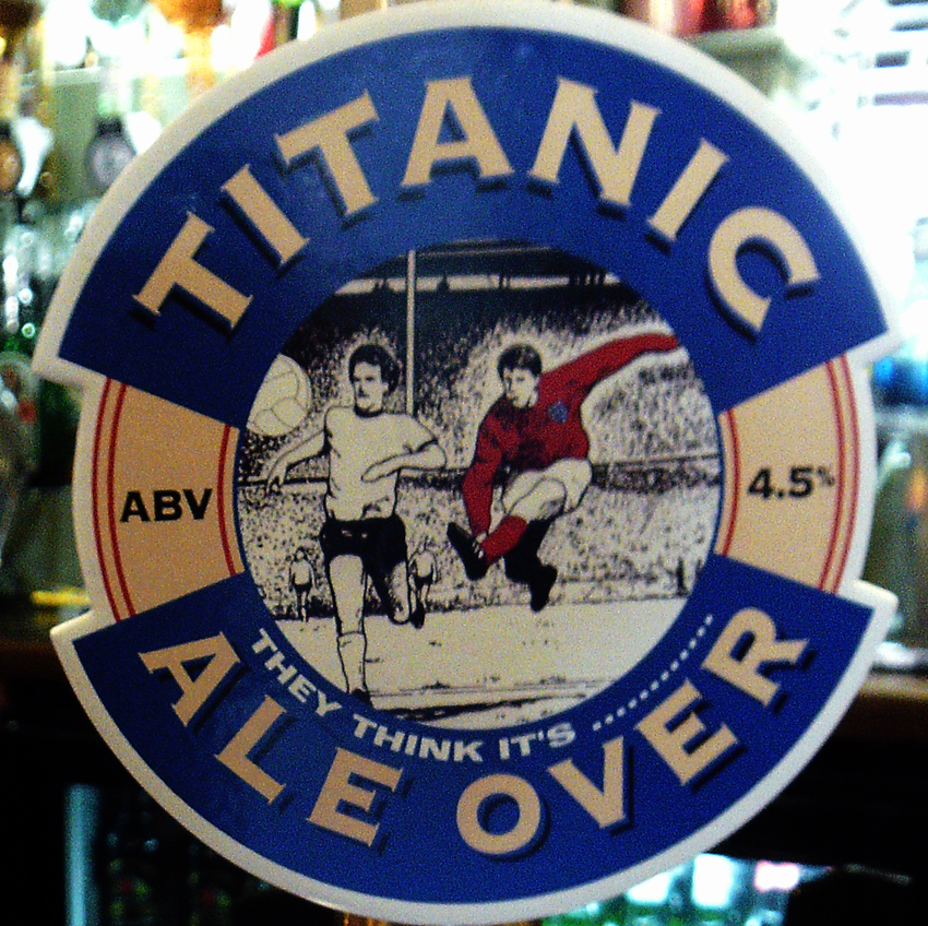 Titanic Ale Over Old Crown Faringdon clip