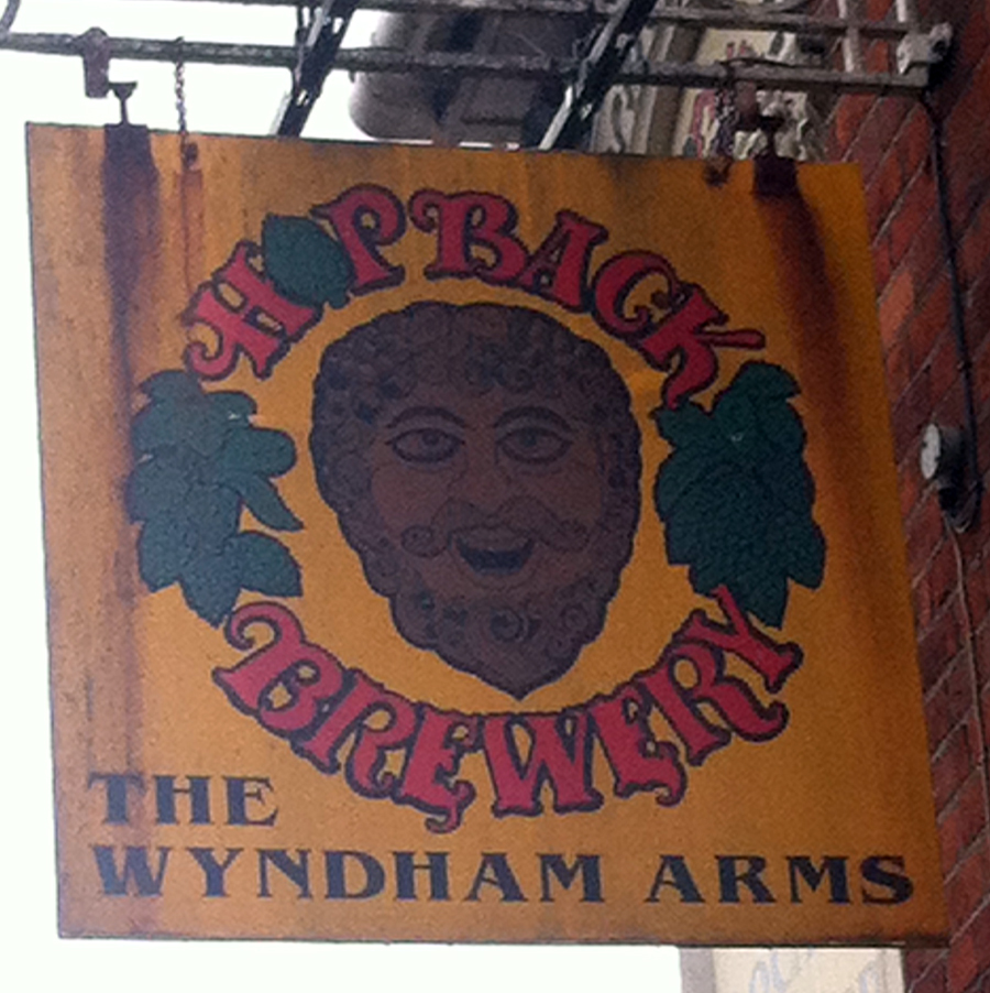 Wyndham Arms Salisbury sign