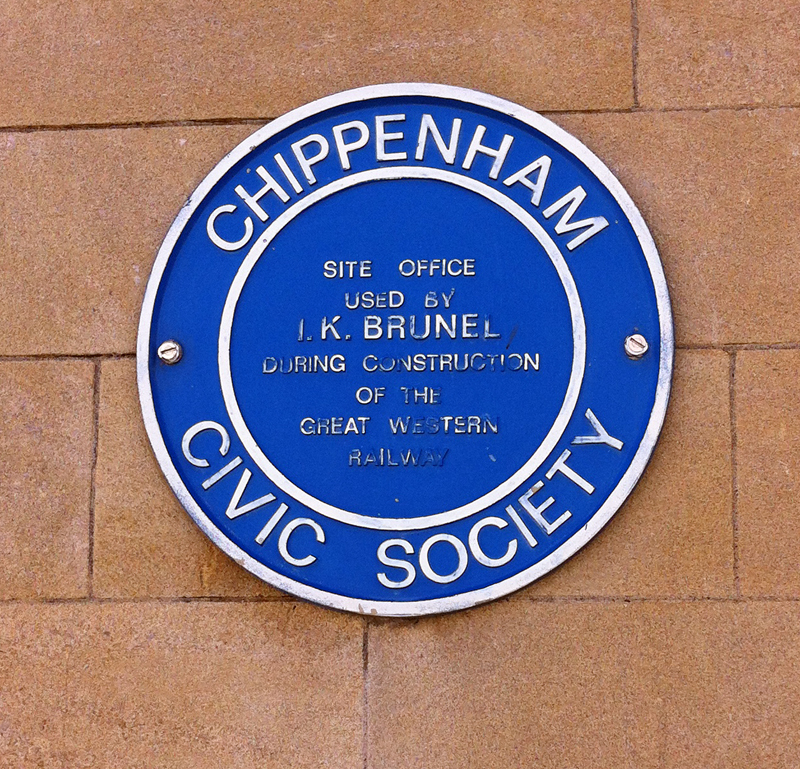 2014-08-16 Brunel Blue Plaque Chippenham