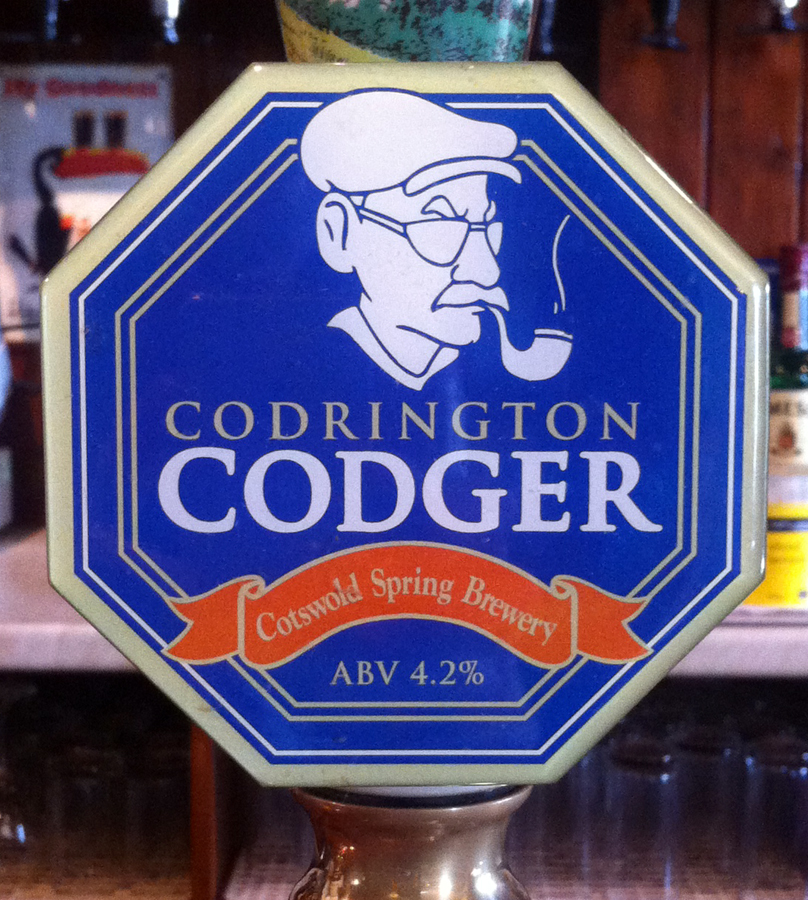 Codrington Codger pump clip