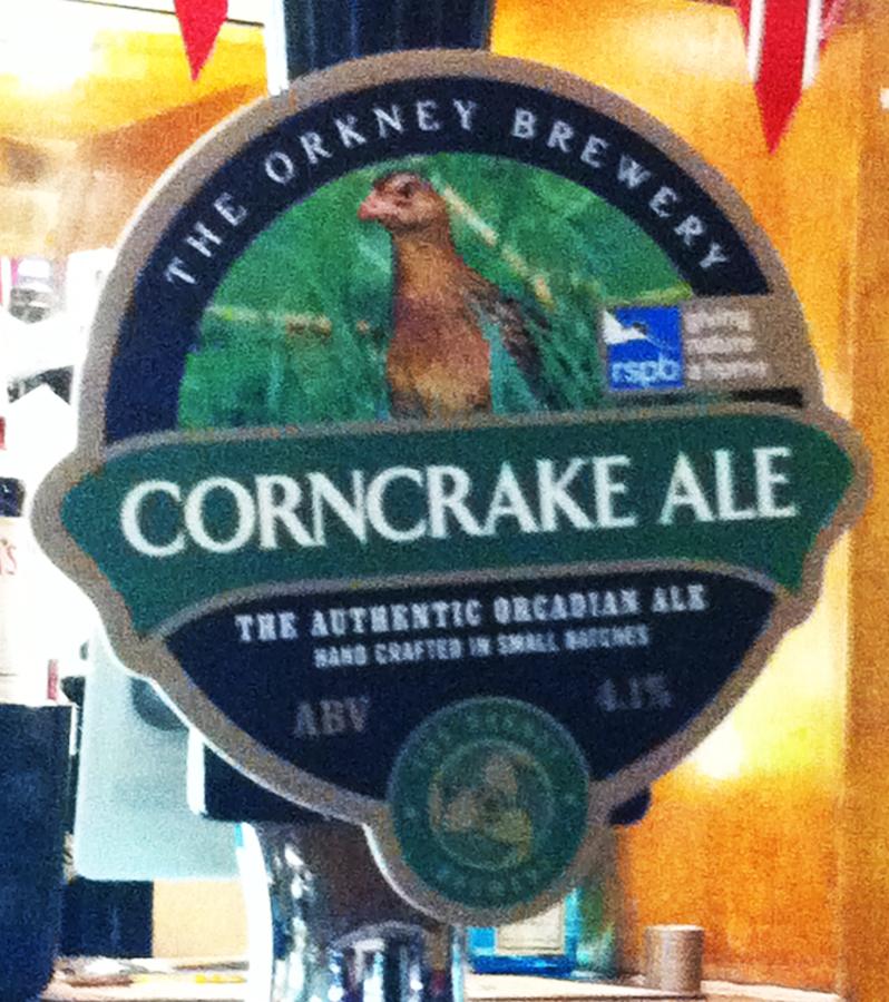 Corncrake Ale King of Wessex Bath pump