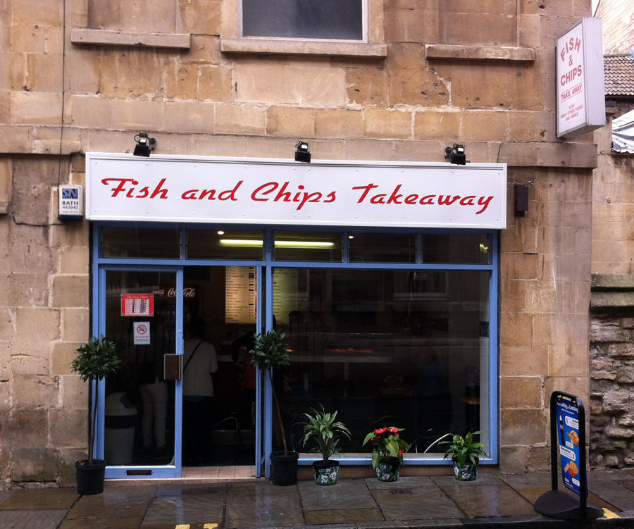 Fish and Chips Takeaway Bath