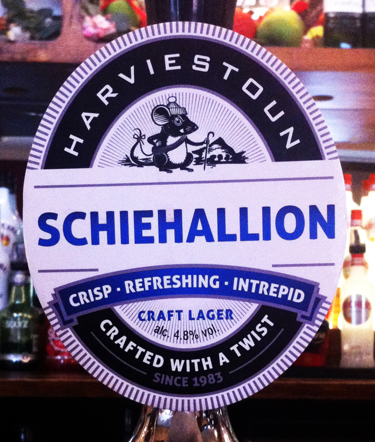Harviestoun Schiehallion pump clip