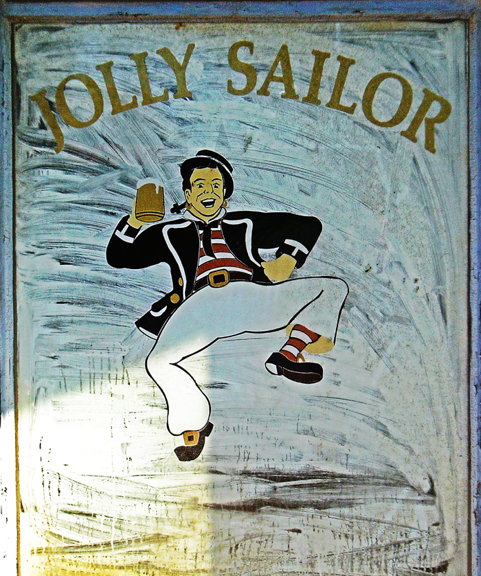 Jolly Sailor Portland closed window