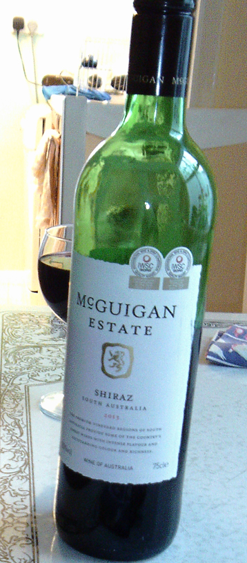 McGuigan Estate shiraz
