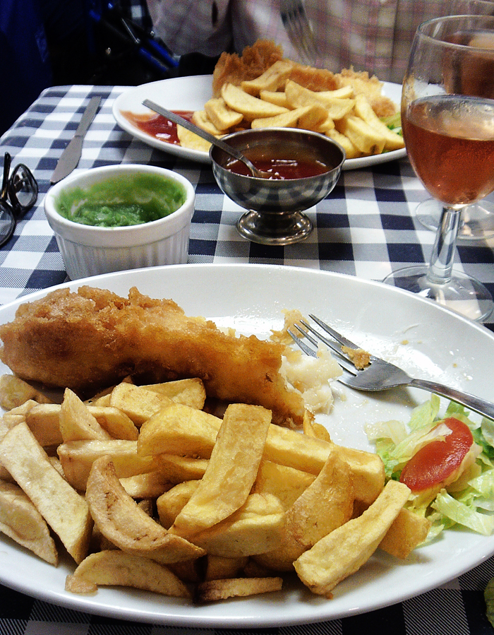 Old Harbour Fish and Chips Weymouth cod