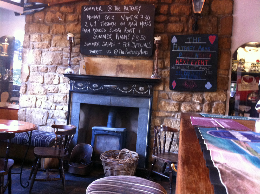 Pulteney Arms Bathwick bar