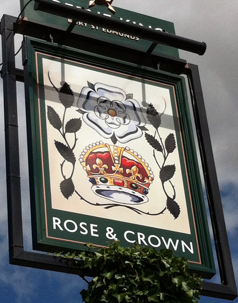 Rose and Crown Bulford sign