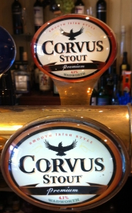 Wellesley Arms Sutton Benger Corvus Stout tap