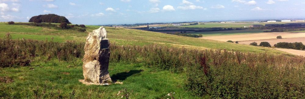 Alfred Williams monument Ridgeway