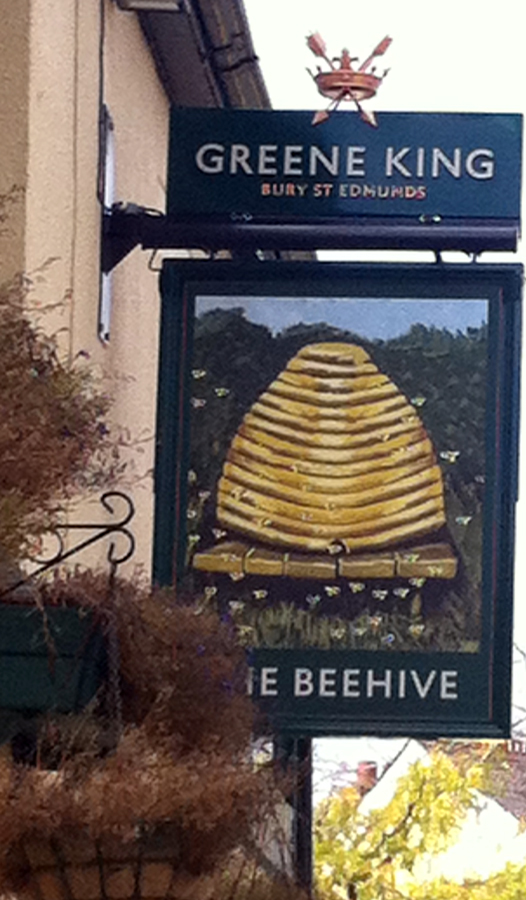 Beehive Swindon new sign 2014