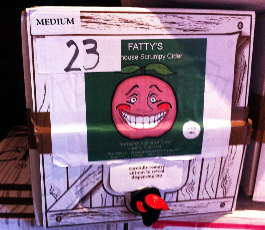 Fatty's House Scrumpy box
