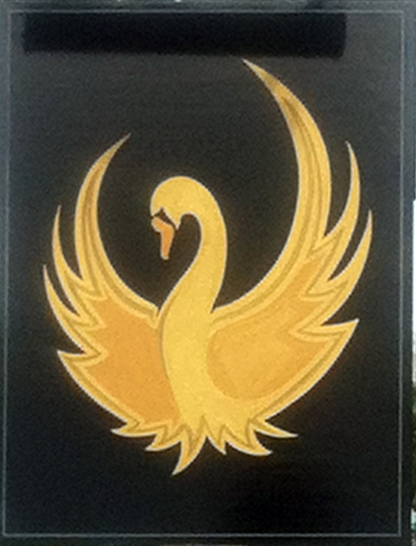Golden Swan Wilcot sign back