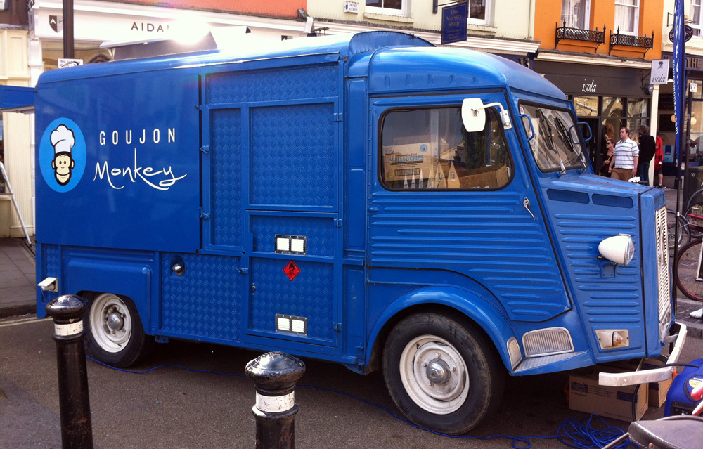 Goujon Monkey Oxford Citroen van