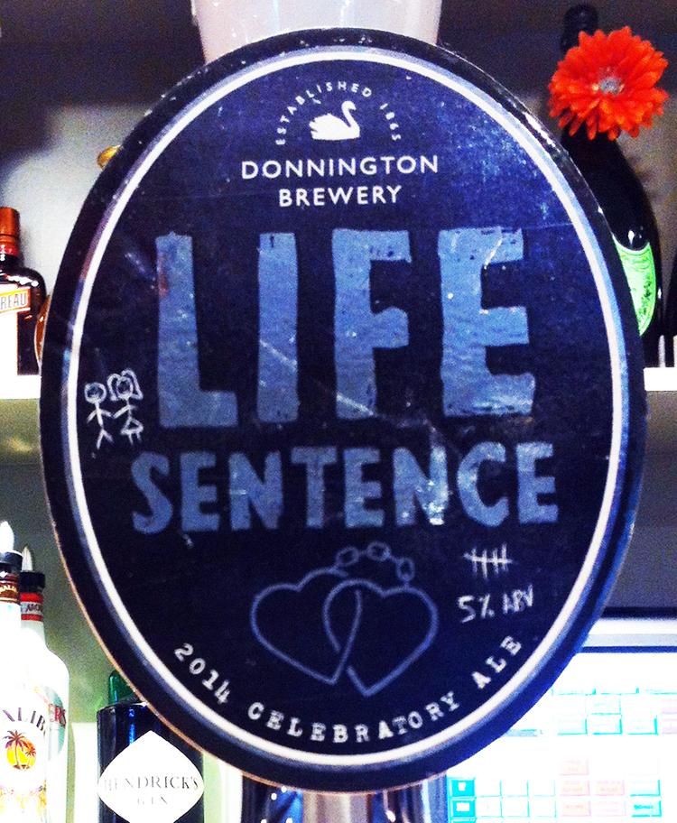 Life Sentence pump clip