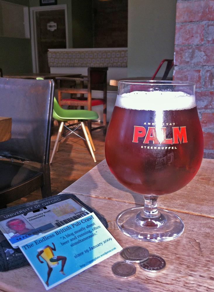 Palm at the Hop Inn Swindon