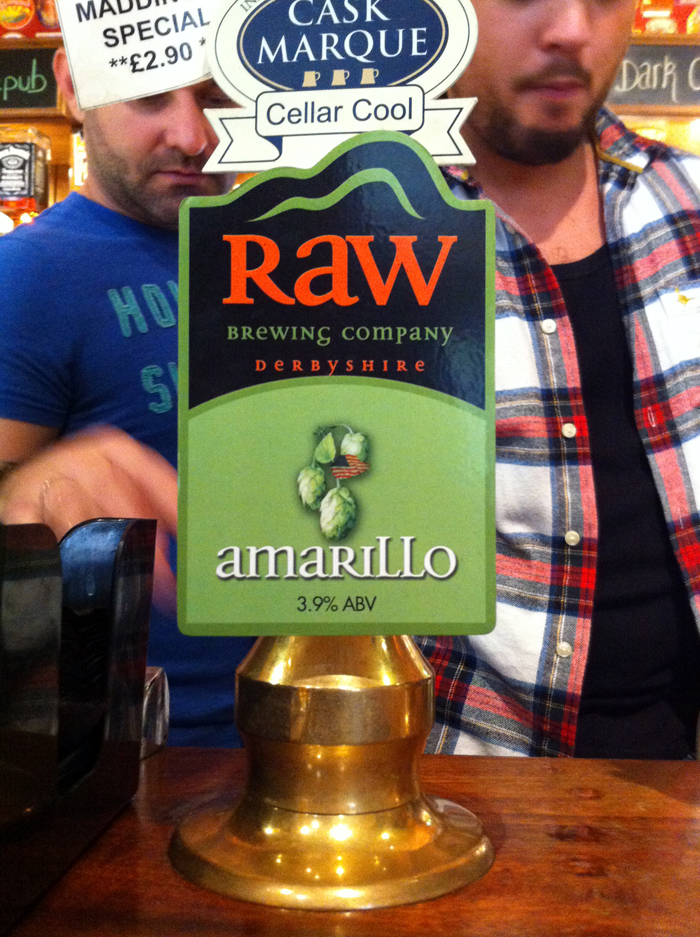 Raw Amarillo at FFTMC pump