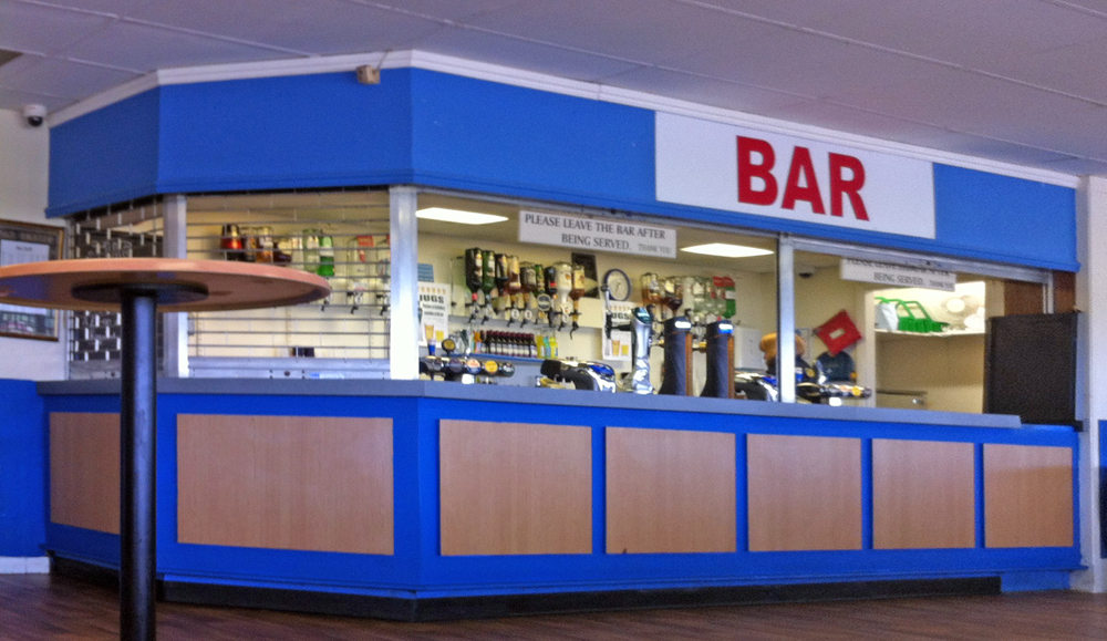The Paddocks Bar Abbey Stadium Swindon