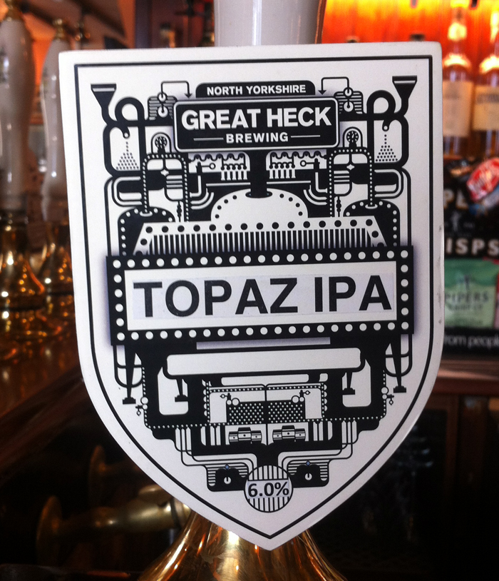Topaz IPA pump clip Carter's Rest