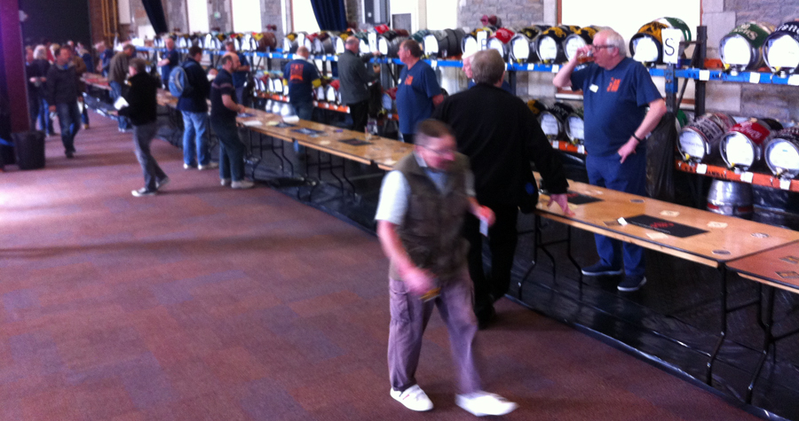 2014 Swindon Beer Fest early barrels