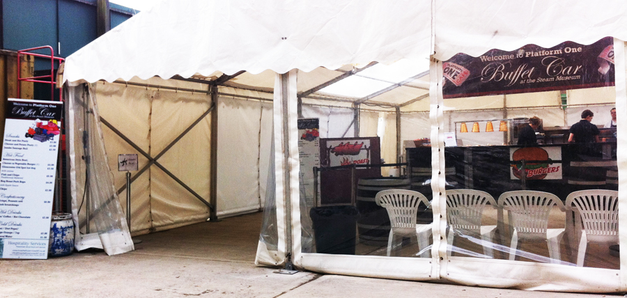 2014 Swindon Beer Fest food tent