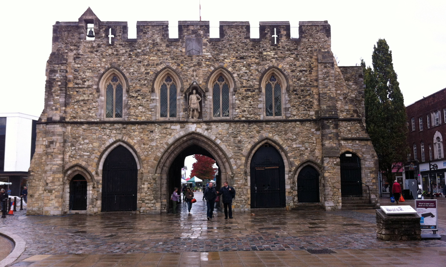 Bargate outside Southampton