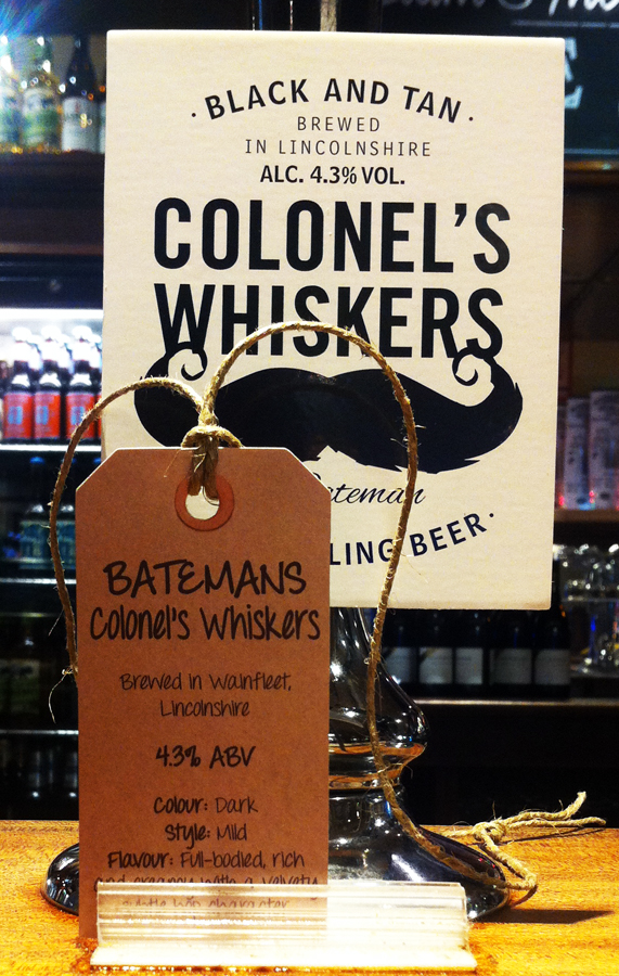 Colonel's Whiskers pump clip